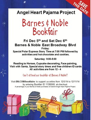 December 5th-6th, 2014 - Barnes and Nobles Polar Express Book Drive Event