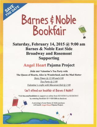 February 14th, 2015 - Barnes and Nobles Valentines Day Tea Party